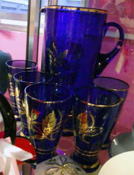 Vntage-glass-set